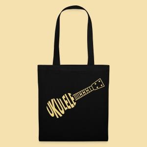 Stofftasche: Ukulele Ukulele (Motiv: beige) - Stoffbeutel