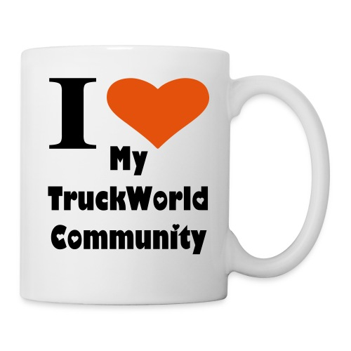 I love my TruckWorld Community Tasse - Tasse