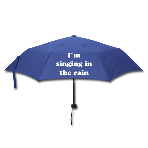 I´m singing in the rain - Regenschirm (klein)