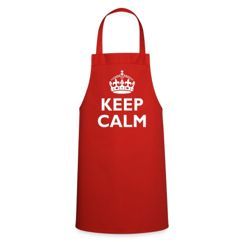 Keep calm apron - Cooking Apron