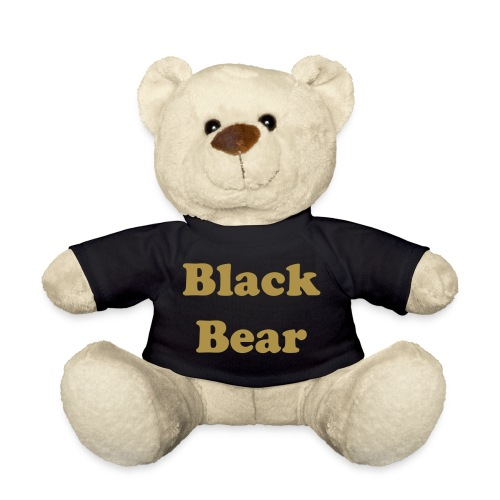 Black shirt bear - Orsetto