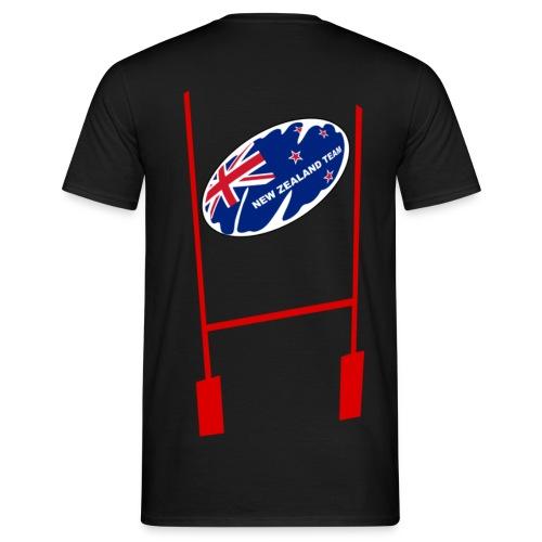 t-shirt rugby new zealand design - T-shirt Homme