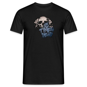 Men's Blue 15 Times Dead Logo - Men's T-Shirt