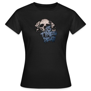 Ladies Blue 15 Times Dead logo - Women's T-Shirt