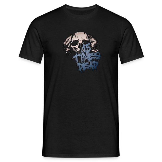 Girth Metal Mafia Blue Logo Print