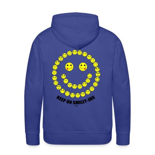 Keep on ....  - Mannen Premium hoodie