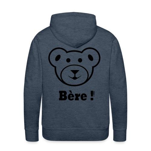 Bère rug - Mannen Premium hoodie