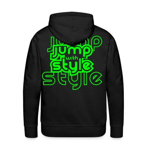 Jump Pullover - Männer Premium Hoodie