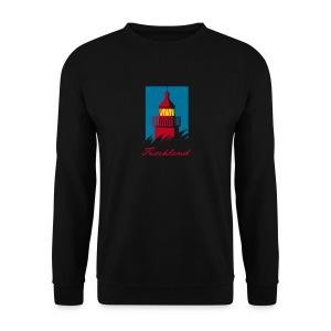 Leuchtturm auf dem Fischland, dunkel - Männer Pullover