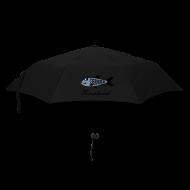 Regenschirme ~ Regenschirm (klein) ~ Schietwetter Regenschirm, Hering – Silber glänzend