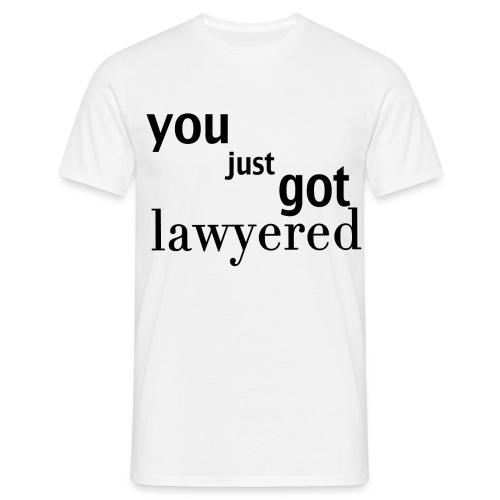 Lawyered shirt - men - Men's T-Shirt
