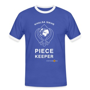 Men's Piece Keeper - Men's Ringer Shirt