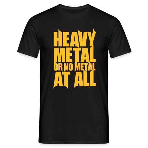 Heavy Metal male - Miesten t-paita