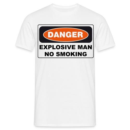 EXPLOSIVE MAN  - T-shirt Homme