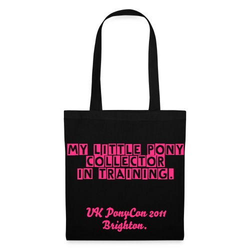 My little pony collector in training black pink Tote - Tote Bag