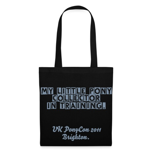 My little pony collector in training black Tote - Tote Bag