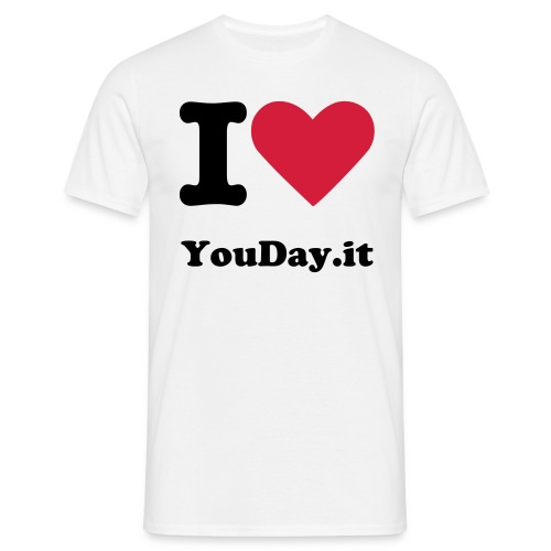 I Love Youday.it 1 - Maglietta da uomo