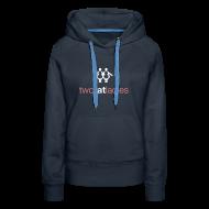 Hoodies & Sweatshirts ~ Women's Premium Hoodie ~ TWO FAT LADIES HOODIE