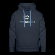 Hoodies & Sweatshirts ~ Men's Premium Hoodie ~ TWO FAT LADIES HOODIE