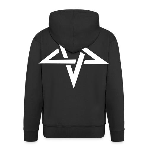 Official The R.O.A.D pentagram hoodie - Men's Premium Hooded Jacket