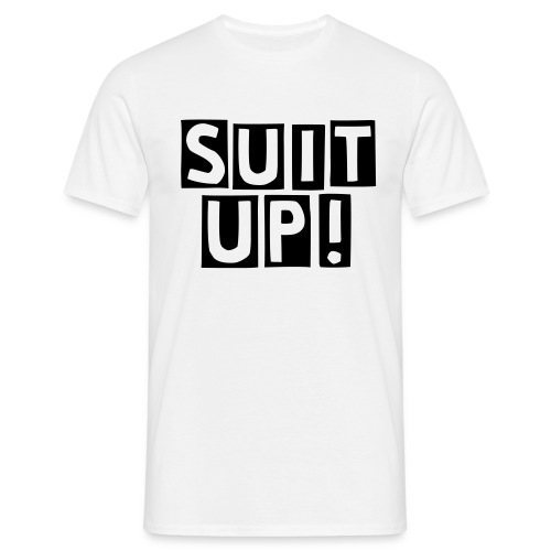 Suit Up! Cutter Version - Maglietta da uomo