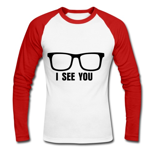 GirlNerd23 Baseball Top - Men's Long Sleeve Baseball T-Shirt