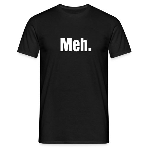 GirlNerd23 Meh. Tee - Men's T-Shirt