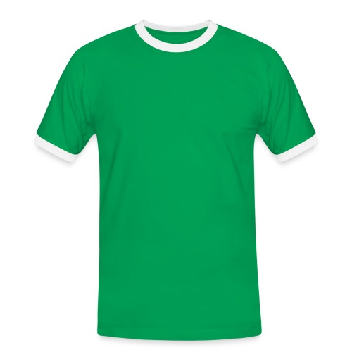 Fußball Fanshirt - Männer Kontrast-T-Shirt