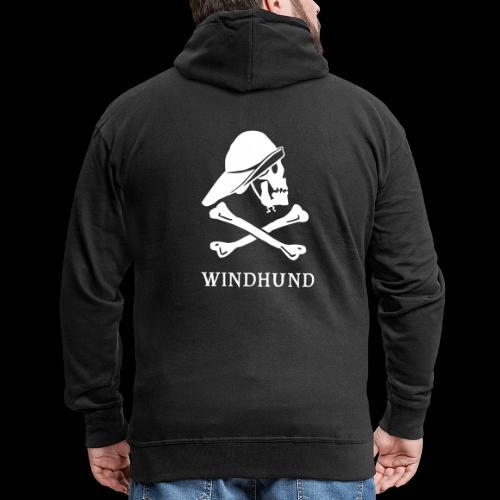 ~ Windhund ~ - Männer Premium Kapuzenjacke