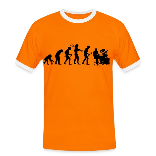 Be Music - Männer Kontrast-T-Shirt