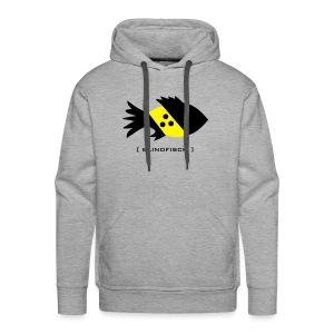 t-shirt fisch blind blindfisch flosse ozean meer wal delphin spruch sprüche comic tiershirt shirt tiermotiv - Männer Premium Hoodie