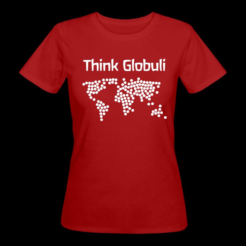 Think Globuli - Frauen Bio-T-Shirt
