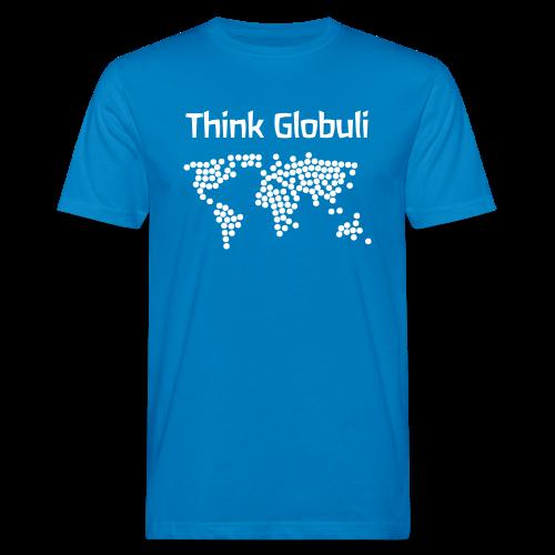 Think Globuli - Männer Bio-T-Shirt