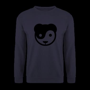 yin yang panda teddy Pullover