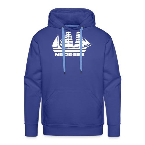 Nordsee Segelschiff Hoody - Männer Premium Hoodie