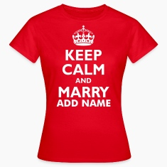 keep_calm_and_marry_2 T-Shirts