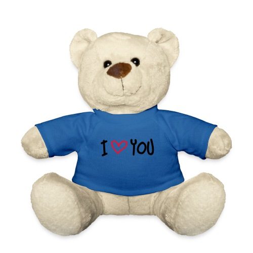 I love you teddybear - Teddybjørn