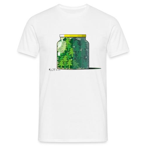 Tanne im Glas T-Shirt - Männer T-Shirt