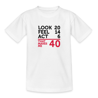 Look Feel Act 40 (2c)++ Kids' Shirts