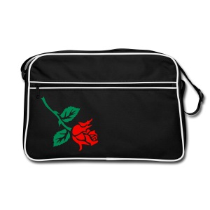 Tattoo Rose bowling bag - Retro-tas