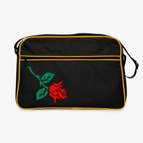Tattoo Rose bowling bag - Retro Bag