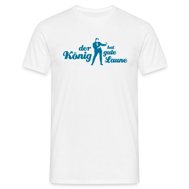 Party-Shirt: Der König hat gute Laune!