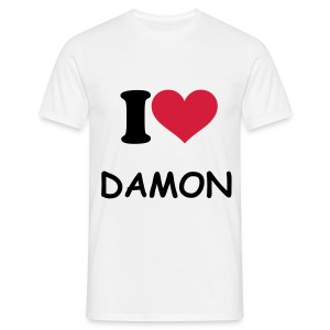 Tee Shirt I Love Dj Damon pour Homme - T-shirt Homme