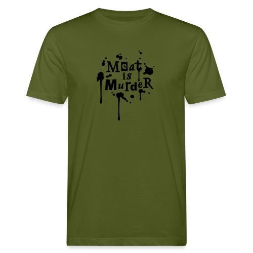 T-Shirt Meat is Murder - Männer Bio-T-Shirt