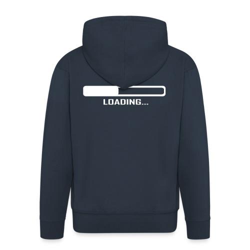 Loading Music Shirt - Felpa con zip Premium da uomo
