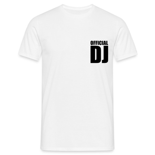 Official DJ - Koszulka męska