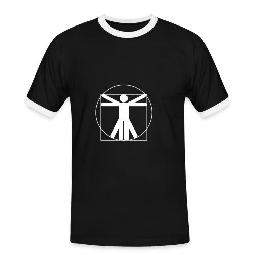 L'homme de Vitruve - T-shirt contrasté Homme