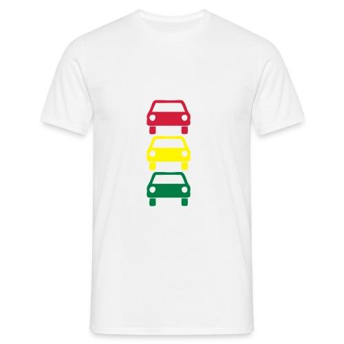 coches semaforo - Camiseta hombre