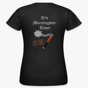 It's Morningstar Time! Goedemorgen! Klang - Women's T-Shirt