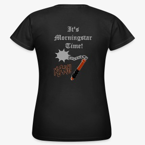 It's Morningstar Time! Goedemorgen! Klang - Women's T-Shirt